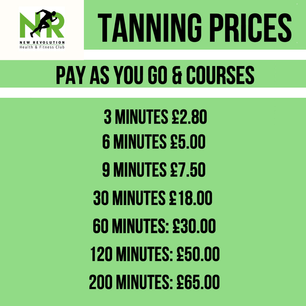 Tanning Beds Pay As You Go
