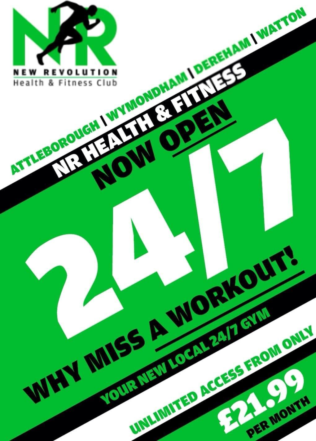 New 24/7 opening hours